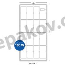Solar Panels 105Wp SOLARA Power M-Series